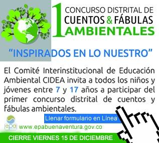 1 Concurso Distrital de Cuentos y Fábulas Ambientales