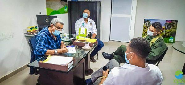 EPA Buenaventura articula acciones con autoridades del Distrito La entidad busca aliados estratégicos para cumplir a cabalidad su labor misional